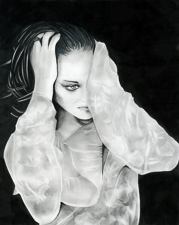 Marion Cotillard por Mayumi